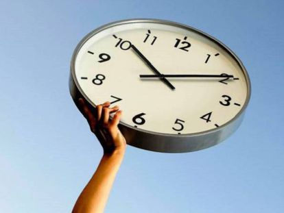 Clock will be moved forward one hour this weekend.