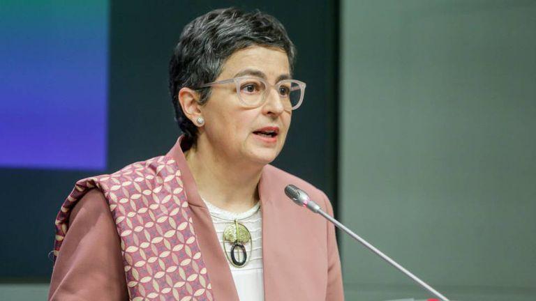 Spain's Foreign Affairs Minister Arancha González Laya.