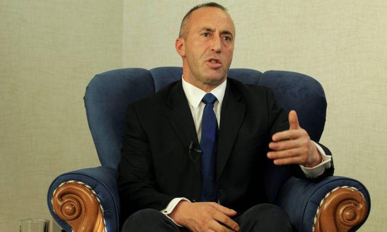 Ramush Haradinaj, the prime minister of Kosovo.