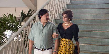 A still from 'Loving Pablo, Hating Escobar' starring Javier Bardem and Penelope Cruz.