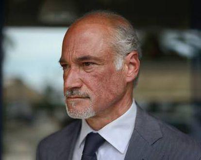 Ángel Ávila, a businessman bankrupted by Cursach.