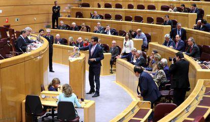 The Spanish Senate Committee on Article 155.