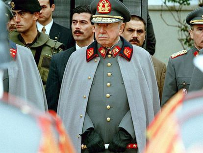 The late General Augusto Pinochet, in 1997.