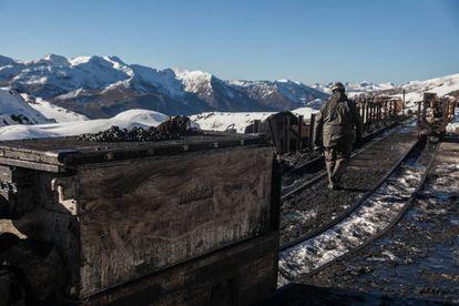 A closed coal mine in Asturias.