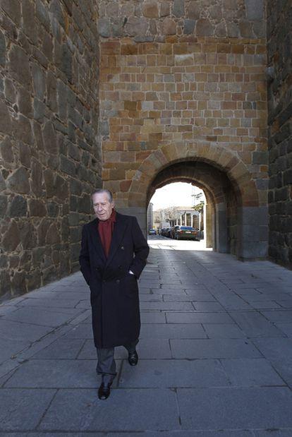 The former head of state security, Francisco Laína, in Ávila on February 16, 2011.