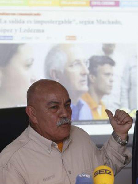 Venezuelan Deputy Darío Vivas, in Madrid on Tuesday.