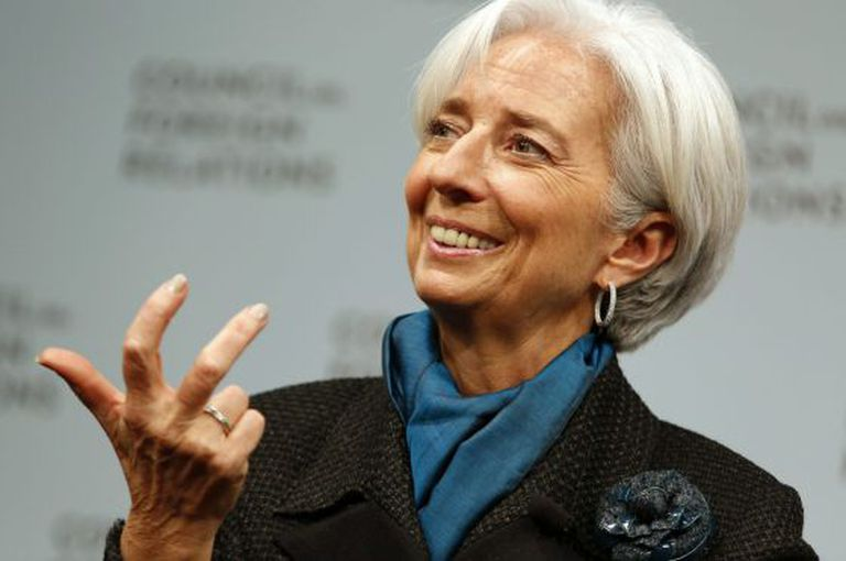 IMF Managing Director Christine Lagarde is optimistic about Spain.