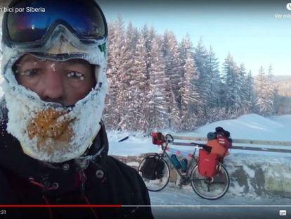 Andrés Abián on his Siberian adventure.