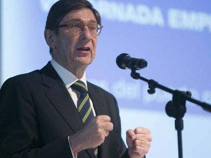 Bankia president Jose Ignacio Goirigolzarri.