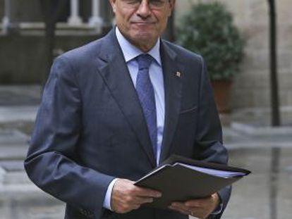 Catalan premier Artur Mas.