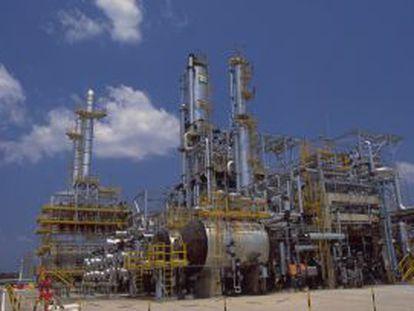 A refinery in Manaos.