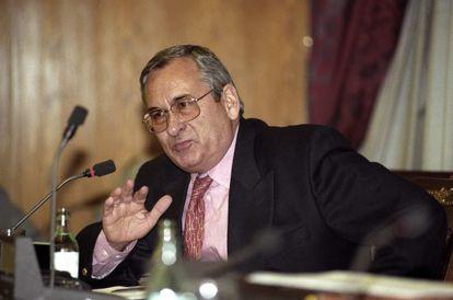 The former treasurer for the Popular Alliance (AP) party, Ángel Sanchís.
