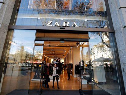 Zara's flagship store in Barcelona.