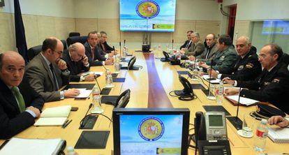 Anti-terrorist officials have been meeting to discuss a strategy to tackle the jihadist threat.