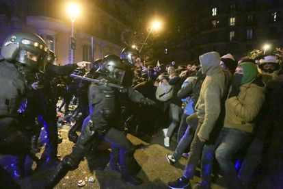 Clashes in Barcelona against the arrest of Carles Puigdemont.
