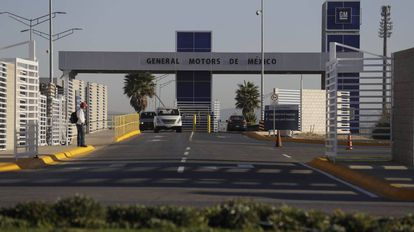 A GM assembly plant in San Luis Potosí, Mexico.