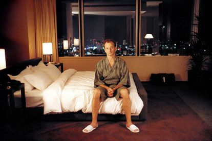 Bill Murray in a promotional image for the film 'Lost in Translation.'