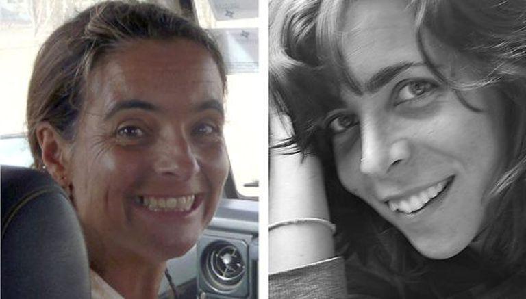 Blanca Thiebaut (r), and Montserrat Serra were kidnapped on October 3, 2011.