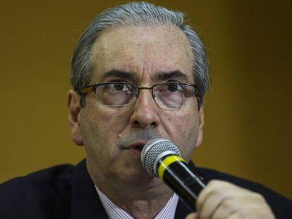Eduardo Cunha in a 2015 file photo.