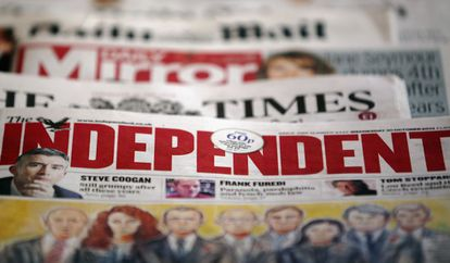 ''The independent' was founded in 1986.