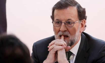 Former PP Prime Minister Mariano Rajoy.