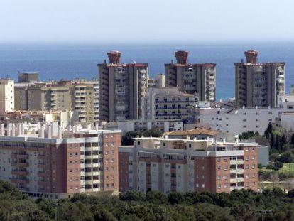 Torremolinos on the Costa de Sol, a popular holiday destination for Moroccans.