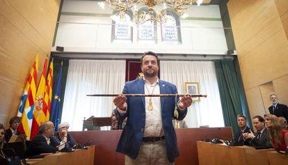 The mayor of Badalona, Alex Pastor, in a file photo.