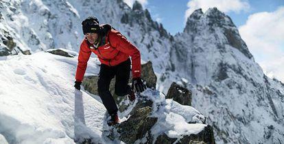 Kilian Jornet in Chamonix in 2014.