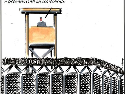 - Guantanamo was a juridical experiment; now we're going to create the law.