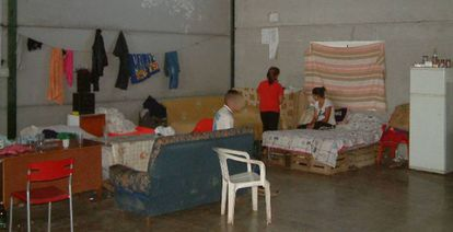 Three victims of forced labor rescued in the province of Seville.