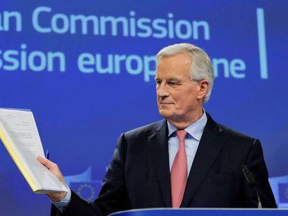The EU's Brexit negotiator Michel Barnier.