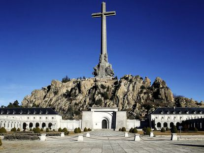 The Valley of the Fallen, where tens of thousands of war dead lie buried.