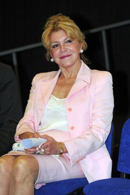 Carmen Cervera, the widow of Baron Thyssen-Bornemisza.