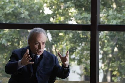A photograph of Josep Carreras from 2008.