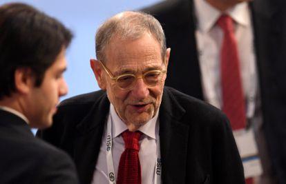 Former NATO Secretary-General Javier Solana.