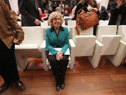 Mayor of Madrid Manuela Carmena.
