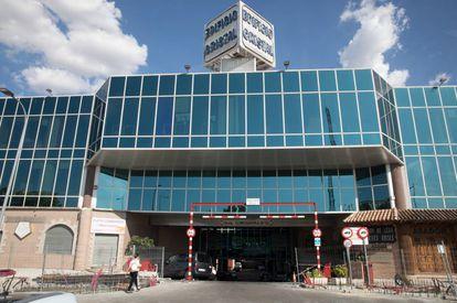 The building where Caberera's body was found.