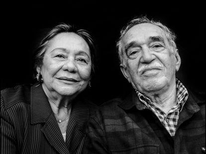 Mercedes Barcha and Gabriel García Márquez in 2008.