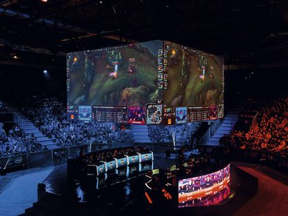 Semi-final for the League of Legends from the Orange Superleague clubs last December in Madrid.