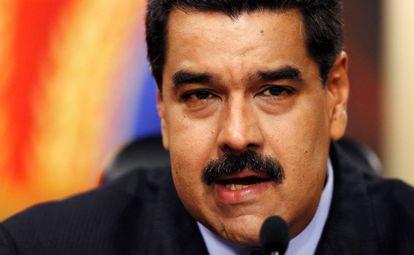 Venezuelan President Nicolás Maduro on Tuesday.