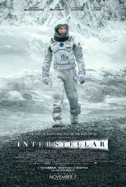 """""""'Interstellar' is a project with a lot of production value. For films like this, studios make a lot of posters,"""" admits Matilla."""