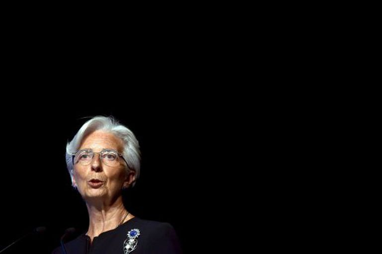 Christine Lagarde, head of the International Monetary Fund.