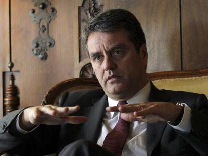 Brazilian diplomat Roberto Azevêdo.