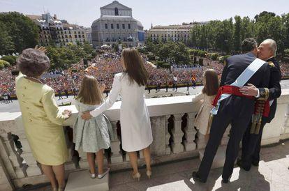 The Spanish Royal Family.