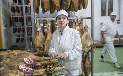 Desislava Tsvetanova, an employee at La Hoguera.