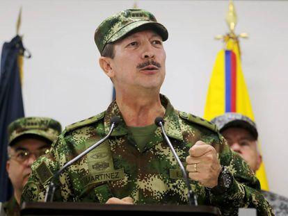 General Nicacio Martínez Espinel.