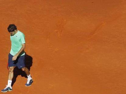 Roger Federer, a former tournament winner at Madrid's Caja Mágica, lost to Kei Nishikori.