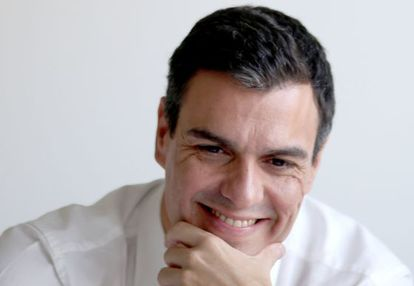 Socialist Party leader Pedro Sánchez.