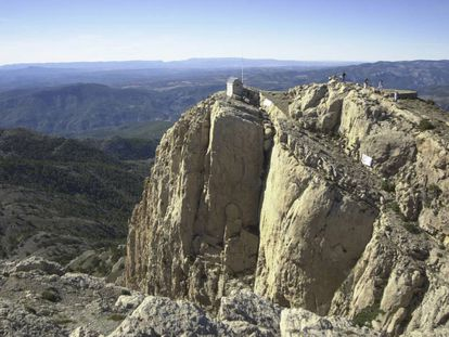 The top of Penyagolosa, in Castellón.
