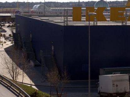 An Ikea store in San Sebastián de los Reyes, in Madrid.